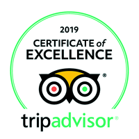 Trip Adviser - Certificate of Excellence 2019